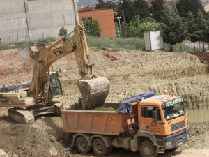 Excavación y movimiento de tierras