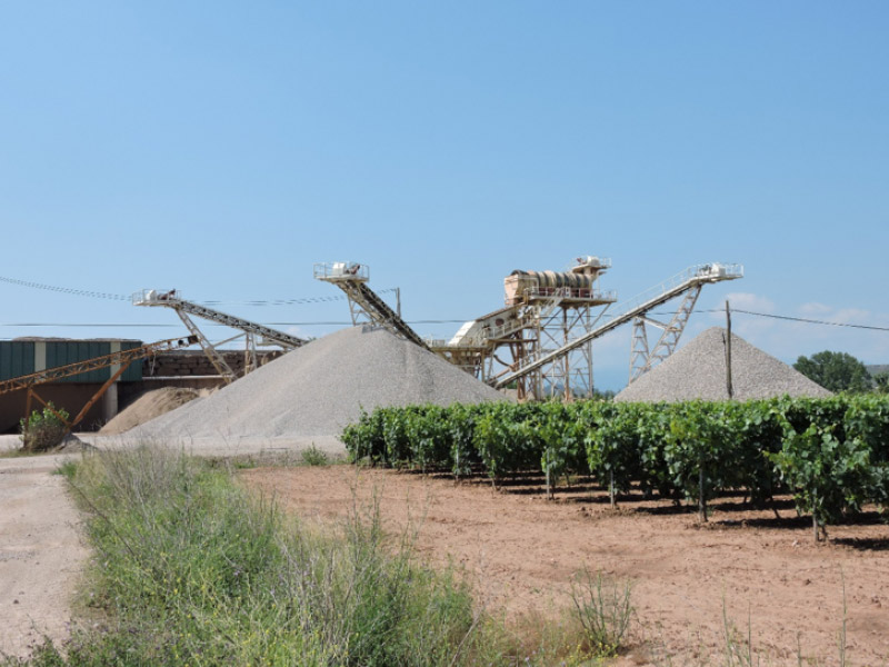 Planta de tratamiento de áridos en La Rioja